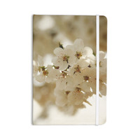 "Angie Turner ""Flowering Pear"" White Petals Everything Notebook"