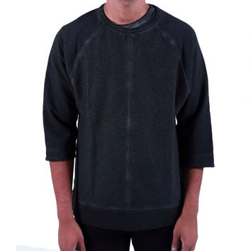 Oversized Rev Crewneck Charcoal