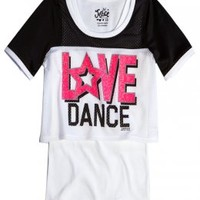 Sports Crop Over Long Tee | Girls Active Outfits New Arrivals | Shop Justice