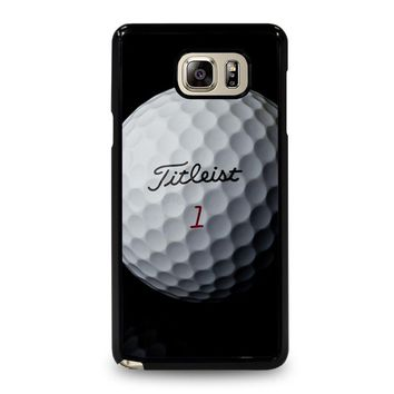 TITLEIST GOLF Samsung Galaxy Note 5 Case Cover