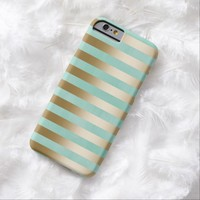 Modern Gold Stripes iPhone 6 case