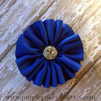 Royal Blue Jumble Hair Accessory,