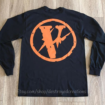 c210e8e9c VLONE Friends x Fragment Design Pop up collab Black Long Sleeve