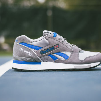 Reebok GL 6000 Athletic Pack - Gry/Vital Blue