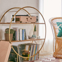 Brigid Circle Shelf | Urban Outfitters