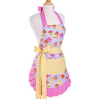 Flirty Aprons Frosted Cupcake Apron | Overstock.com