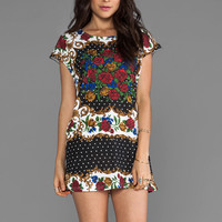 MINKPINK Excessive Short Sleeve Tunic in Multi from REVOLVEclothing.com