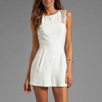Finders Keepers Here We Go Play Suit in White from REVOLVEclothing.com