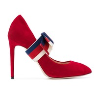 Indie Designs Removable Web Bow Pumps