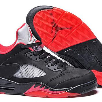 Air Jordan 5 Retro Low 819171-001 Men Leather Sneaker US8-12