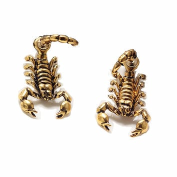 New Ancient Scorpion Stud Earrings