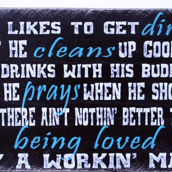 Pistol Annies Quote Pallet Sign Anniversary Gift Country Western Quote Rustic Shabby Chic Handmade Sign Black Turquoise White