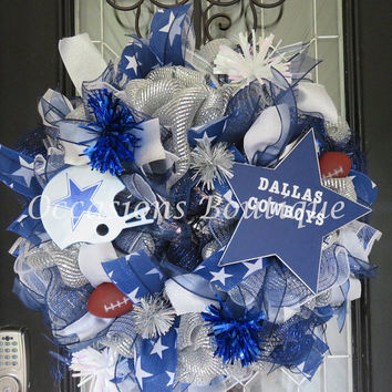 Shop Football Wreath On Wanelo