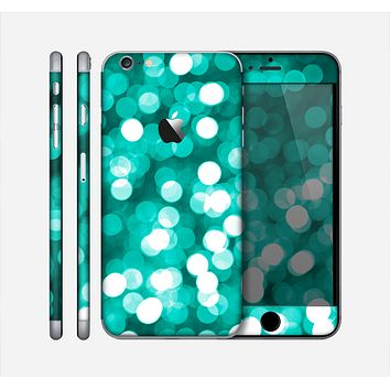 The Unfocused Teal Orbs of Light Skin for the Apple iPhone 6 Plus