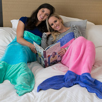 Mermaid Blanket by Blankie Tails (Adult/Teen Size)