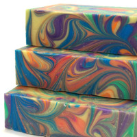KaleidoSoap Rainbow Colored Soap Tropical Scented by KBShimmer