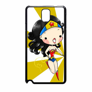 Wonder Woman And Catwoman Best Friend Couple Left A Samsung Galaxy Note 3 Case