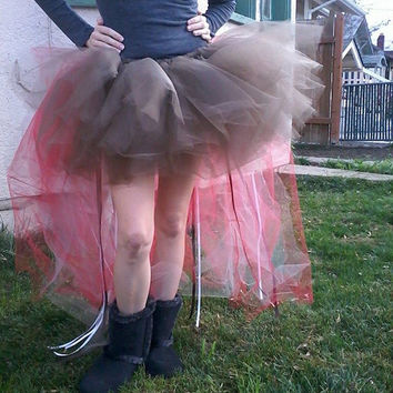 Christmas Fairy tutu, Hi low tutu, Fairy costume, fairy tutu, adult fairy costume, adult hi low tutu, Plus size tutu, strechy tutu