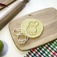 Baymax Cookie Cutter Big Hero 6 Cookie Cutter Cupcake topper Fondant Gingerbread Cutters - Made from Eco Friendly Material