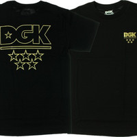 Dgk All Star Tee S Black