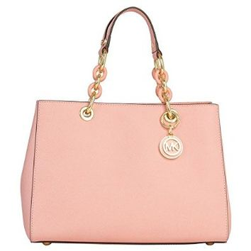 Michael Kors Cynthia MEDIUM Satchel PALE PINK