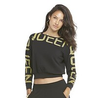 Nicki Minaj Women's Cropped Sweatshirt - Queen
