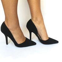 All Business Point Pump Heels In Black
