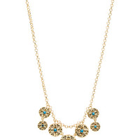 Maricopa Coin Collar Necklace in Gold