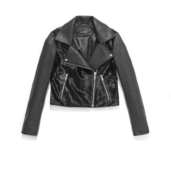 Andrew Marc - Haley - Leather Moto Jacket