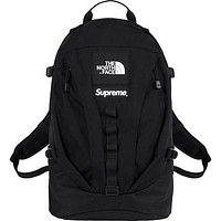 Supreme & The North Face Fashion New Women Men Travel Leisure High Capacity Backpack Bag