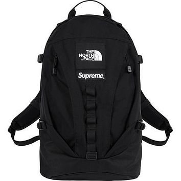 Supreme x The North Face co-branded men's trend versatile sports backpack #1