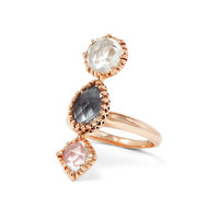 Larkspur & Hawk Sadie Three-Stone Ring