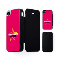 Celebrity Hater Black Flip Case for iPhone 4/4s by Chargrilled