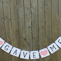 God Gave Me You Banner / Weddings / Baptism / Baby Shower / Garland / Sign / Baptism Decor / Photo Prop / Baby Shower Decor / Religious