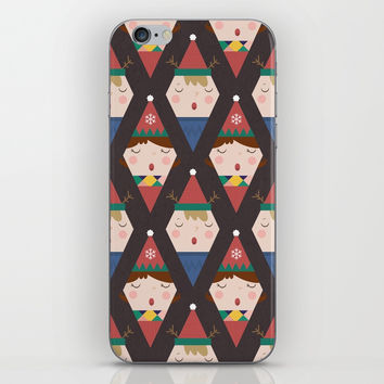Day 25/25 Advent - a Christmas Carol iPhone Skin by lalainelim