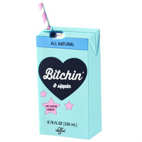 Bitchin & Sippin 3D iPhone 6/6S Case (BLUE)
