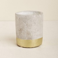 Amber and Smoke Paddywax Concrete Candle