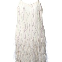 Jean Louis Scherrer Vintage embroidered slip dress