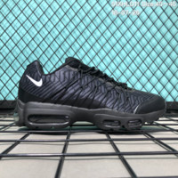 DCCK2 N171 Nike Air Max 95 HYP PRM Anniver Flyknit Causal Running Shoes Black Purple