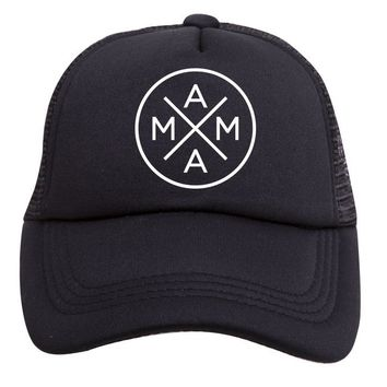 Mama X Trucker Hat (Adult) by Tiny Trucker Co.