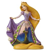 Daring Heights—Rapunzel with Tower Dress Figurine