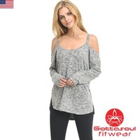 Cold Shoulder Supersoft Top