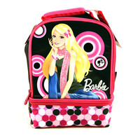 Barbie Insulated Double Compartment Lunch Bag [by Thermos]