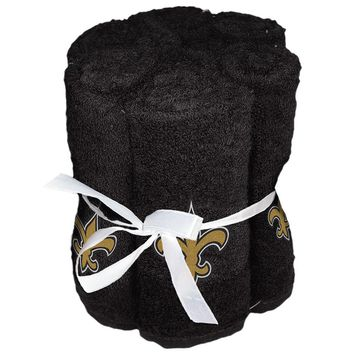 New Orleans Saints NFL Washcloths (6 Pack)
