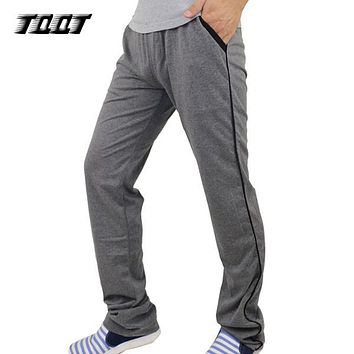 TQQT Cargo Pants Men Panelled Pants Regular Jogger Midweight Mens Clothing Drawstring Pants Men Warm Sweat Pants 7P0132