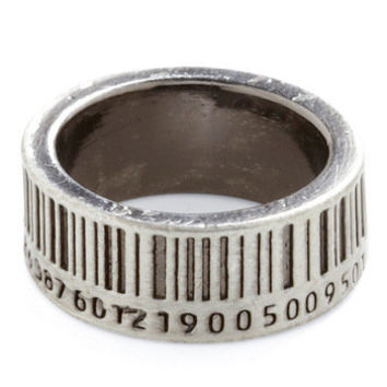 Up to Barcode Ring | Mod Retro Vintage Rings | ModCloth.com