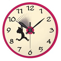 Set the clock back round wall clock