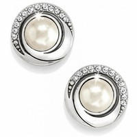 Groovy Groovy Pearl Post Earrings Earrings