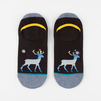 Stance Comet Mens Socks Black  In Sizes L/Xl For Men 27810910004
