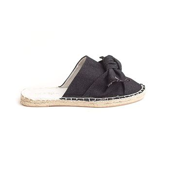 Soho Shoes Women's Flat Espadrille Closed Toe Slip on Casual Slide Sandal